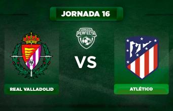 Alineación Valladolid - Atlético
