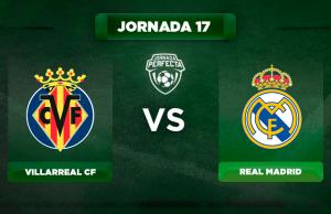 Alineación Villarreal - Real Madrid