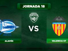 Alineación Alavés - Valencia