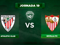 Alineación Athletic - Sevilla