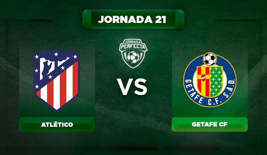 Alineación Atlético - Getafe