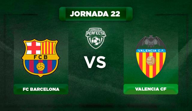 Alineación Barça - Valencia