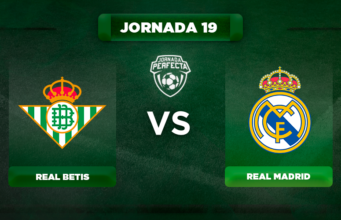 Alineación Betis - Real Madrid