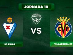 Alineación Eibar - Villarreal
