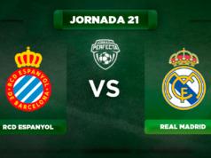 Alineación Espanyol - Real Madrid
