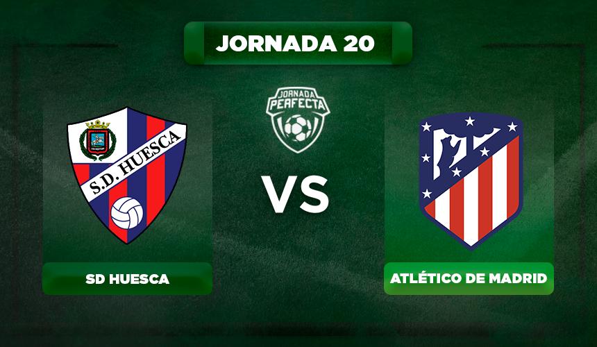 Alineación Huesca - Atlético