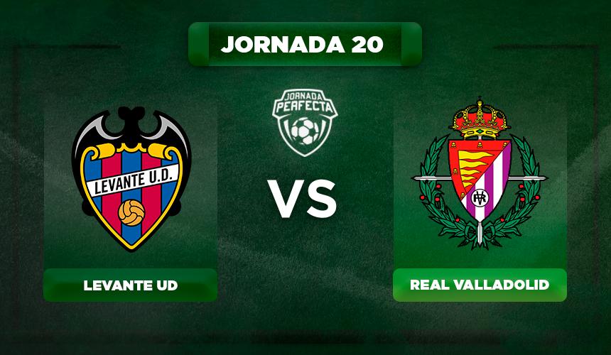 Alineación Levante - Valladolid
