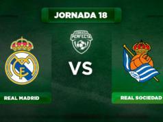 Alineación Real Madrid - Real Sociedad