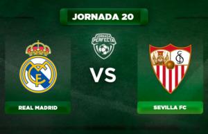 Alineación Real Madrid - Sevilla