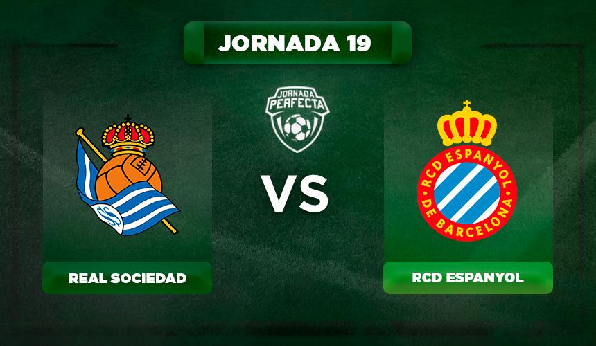 Alineación Real Sociedad- Espanyol
