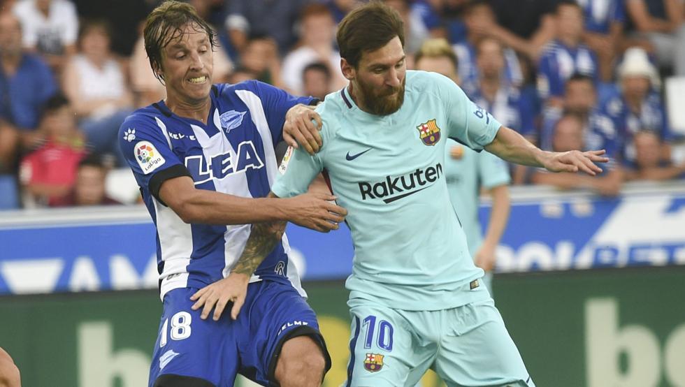 Messi y Pina