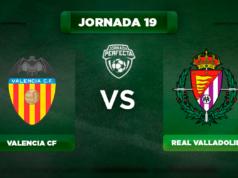 Alineación Valencia - Valladolid