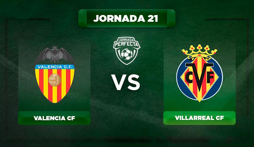 Alineación Valencia - Villarreal