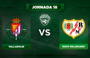 Alineación Valladolid - Rayo