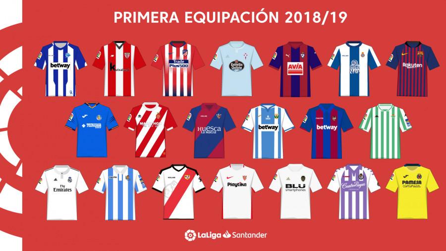 Camisetas LaLiga 2018/19