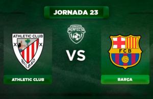 Alineación Athletic - Barça