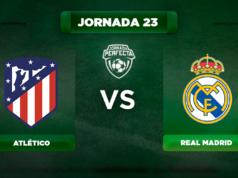 Alineación Atlético - Real Madrid