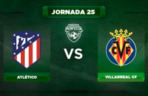 Alineación Atlético - Villarreal