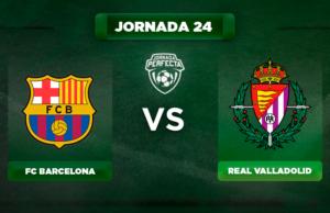 Alineación Barça - Valladolid