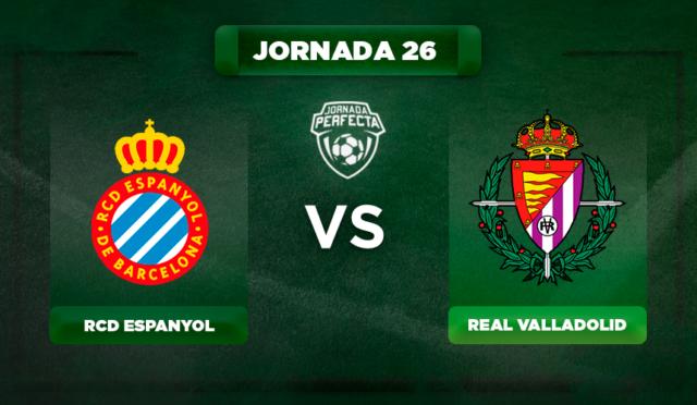 Alineación Espanyol - Valladolid