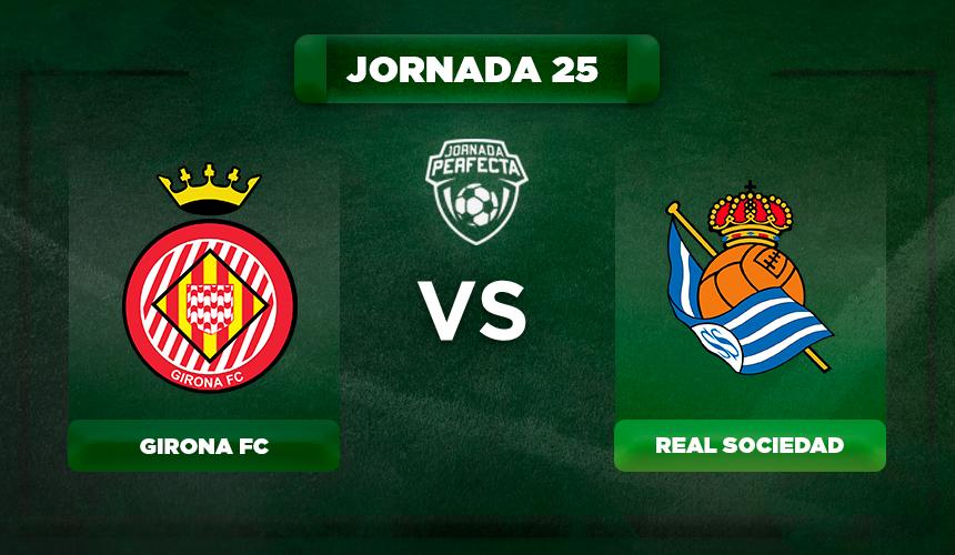 Alineación Girona - Real Sociedad