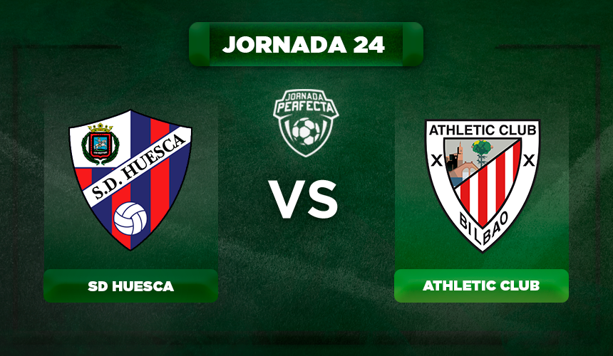 Alineación Huesca - Athletic