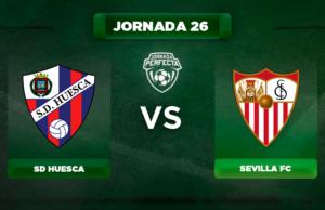 Alineación Huesca - Sevilla