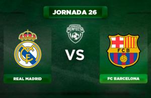 Alineación Real Madrid - Barça