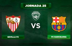 Alineación Sevilla - Barça