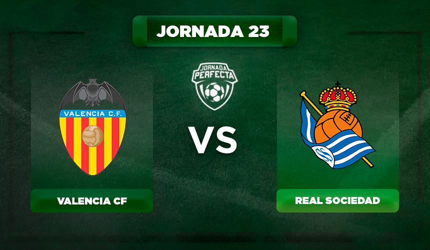 Alineación Valencia - Real Sociedad