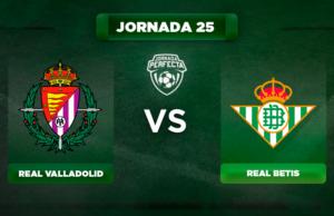 Alineación Valladolid - Betis