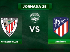 Alineación Athletic - Atlético