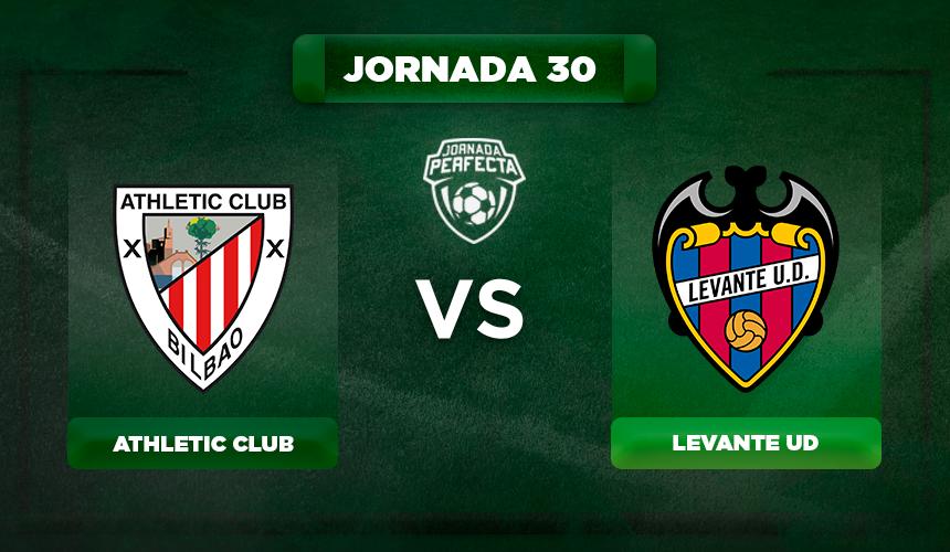 Alineación Athletic - Levante