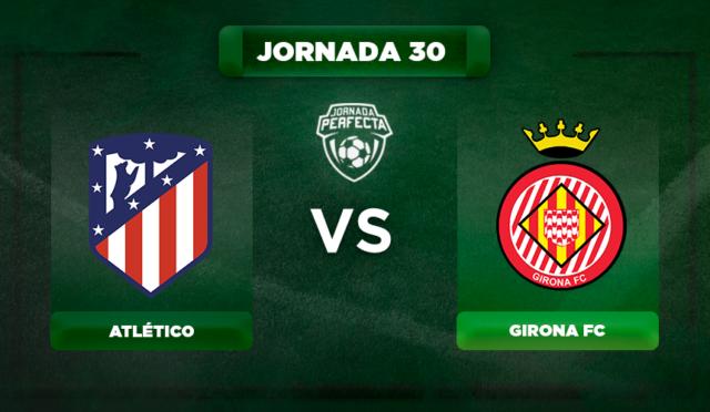 Alineación Atlético - Girona