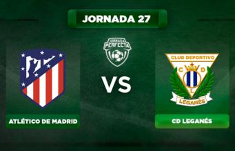 Alineación Atlético - Leganés