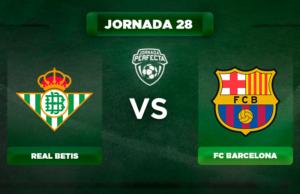 Alineación Betis - Barça