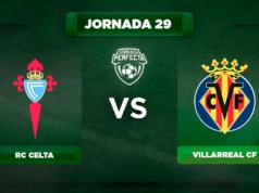 Alineación Celta - Villarreal