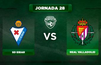 Alineación Eibar - Valladolid