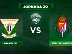 Alineación Leganés - Valladolid