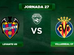 Alineación Levante - Villarreal