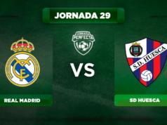 Alineación Real Madrid - Huesca