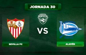 Alineación Sevilla - Alavés