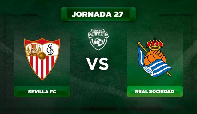 Alineación Sevilla - Real Sociedad