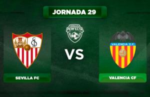 Alineación Sevilla - Valencia