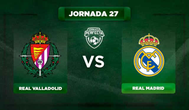 Alineación Valladolid - Real Madrid