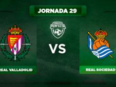 Alineación Valladolid - Real Sociedad