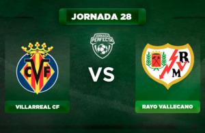 Alineación Villarreal - Rayo