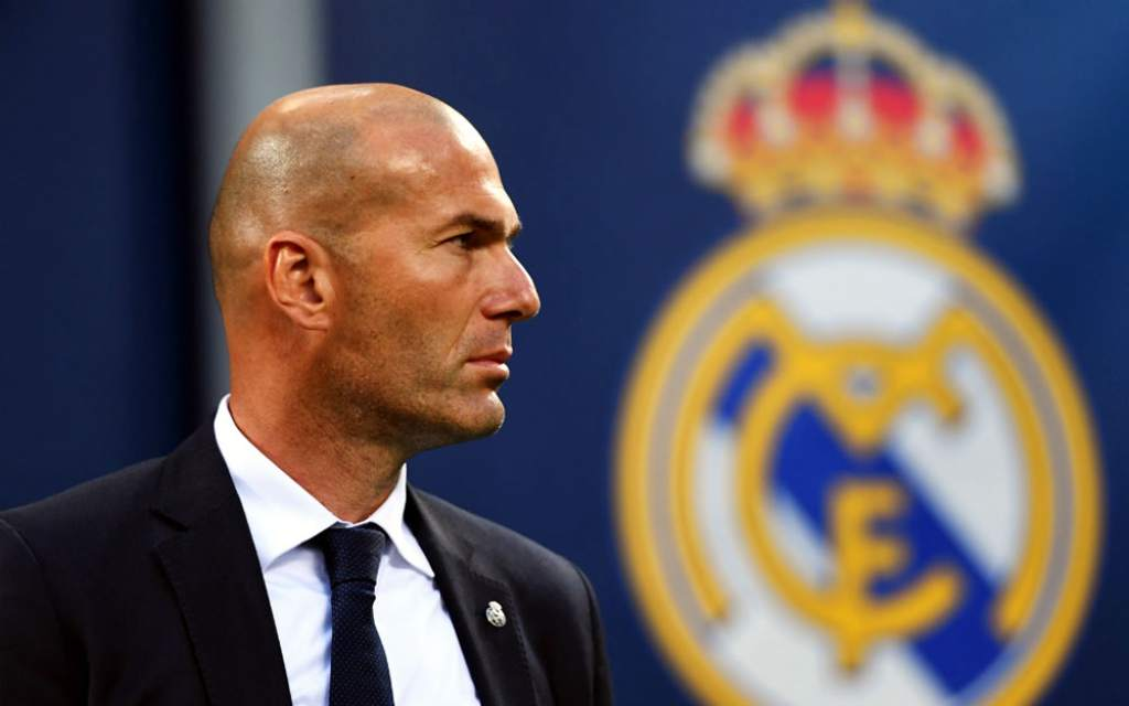 once Zidane Real Madrid