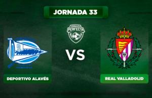 Alineación Alavés - Valladolid
