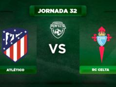 Alineación Atlético - Celta